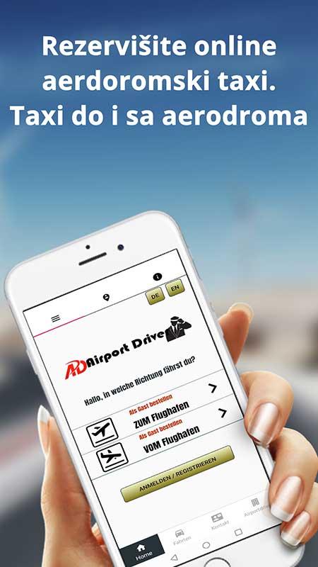 android aplikacija za airport taxi